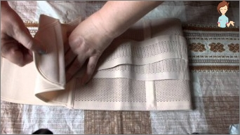 How to sew a sauna belt with the effect of losing weight with your own hands?