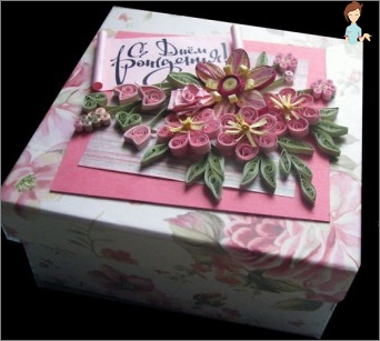How to decorate the box with their hands: interesting ideas