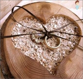 زفاف خشبي - الذكرى بعد 5 سنوات من الزواج