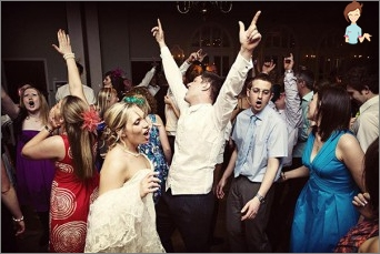 Dancing at the wedding: what they are like