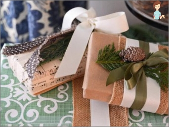 Mastering the art of creating gift packaging: beautiful make out his own hands