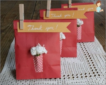 Paper bags: how to make yourself different options packages