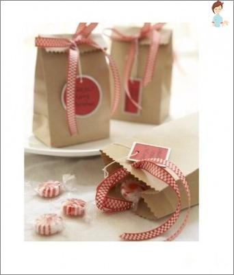 Popieriniai maišai: kaip padaryti sau Variantai paketai