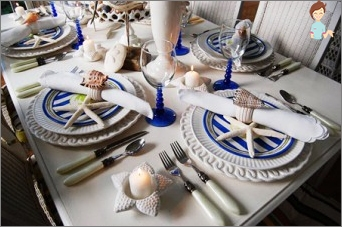 A wedding in a nautical style