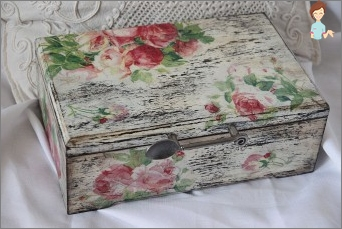 Decoupage Shabby: Principles style