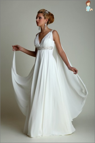 Wedding dresses in Greek style
