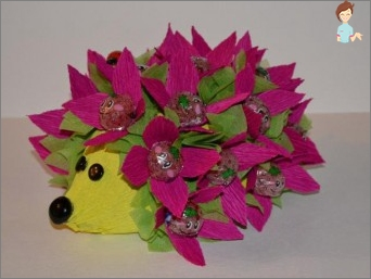 Hedgehog of sweets - the original and delicious gift for all occasions
