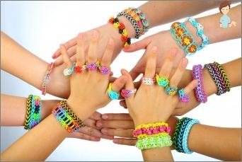 Weave Armbänder: Optionen und Variationen