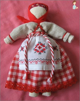 How to make a doll-amulet