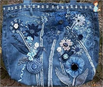 We sew a bag of old jeans with our own hands: we embody simple ideas into reality