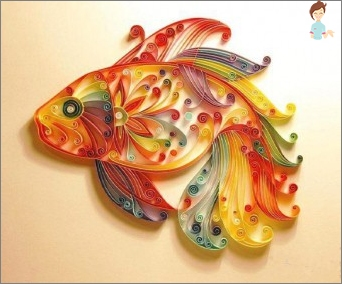 Filigree art: handicrafts made of paper quilling technique