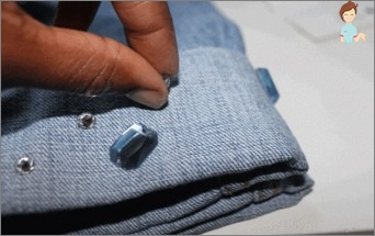 How to paste a rhinestones on clothes: to itself the designer
