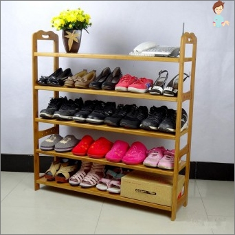 Shelves for shoes: an overview of the options