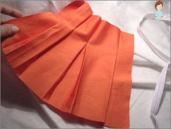 Is it possible to sew a skirt with folds?