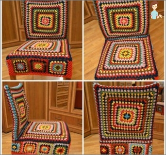 Fashion apparel for furniture: chair covers with their own hands