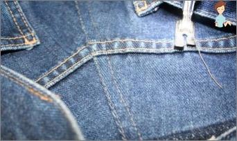 Wie man Jeans näht?