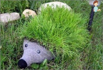 Interesting crafts for the garden