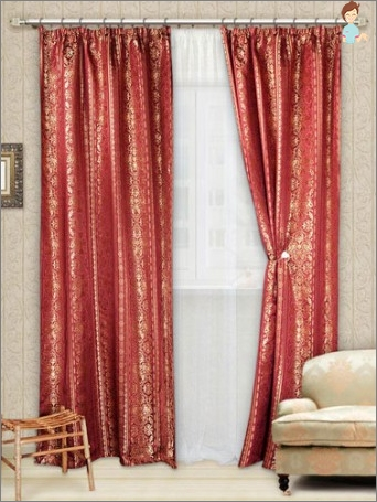 How to sew the curtains yourself?