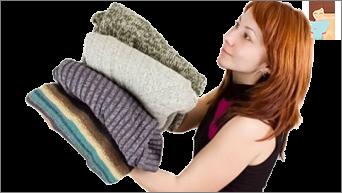 اللباس الدافئ: متماسكة أنفسهم