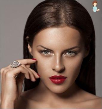 Ideale Wangenknochen: wie man macht, welche Kosmetika man wählt ...