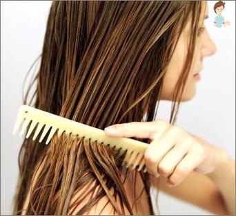 Dėl sausų plaukų ruginės duonos kaukė