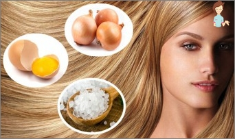 Mask with vitamin A for damaged hair