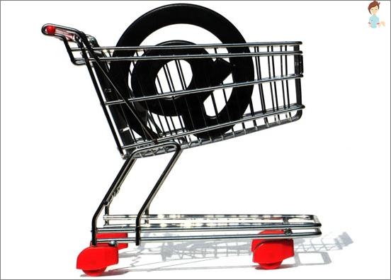 Online shop checkout