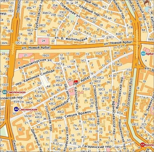 Žemėlapis Senojo Arbato