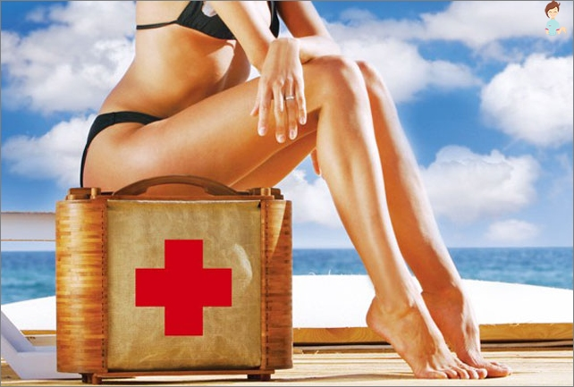 What do I need to take a trip - the road first aid kit