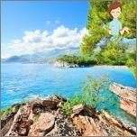 Montenegro i begynnelsen av juni