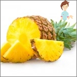 Bad fruit during pregnancy - pineapple