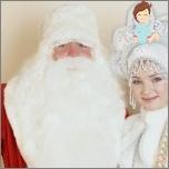 Alles über Santa Claus für ein Kind für das neue Jahr