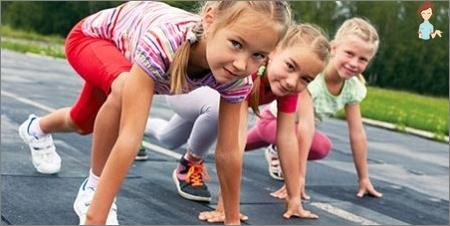 Sport zum Temperament eines Kindes