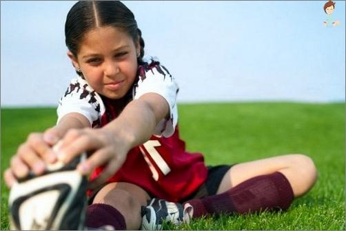 Welche Sportart gibt ein Kind