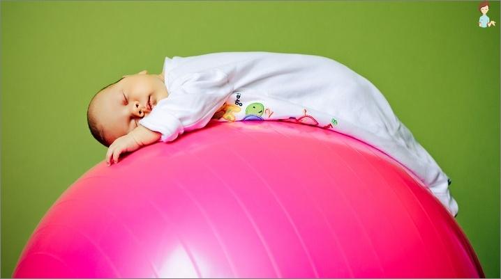 Fitbola-Vorteile für Kinder