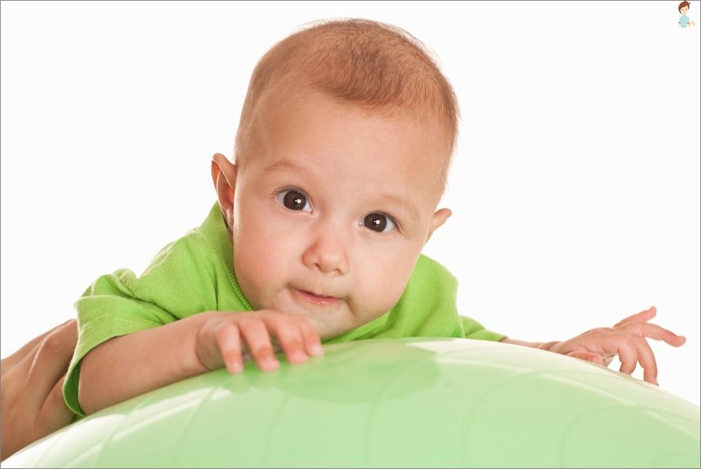 Fitbola Vorteile für Säuglinge
