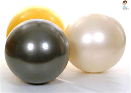 So wählen Sie den Ball für Fitbola-Neugeborene aus