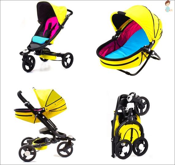 Modischer Kinderwagen für 2014 Neugeborene Bloom Zen