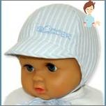 أبعاد قبعات الأطفال