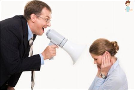 ماذا تفعل إذا كان رأس الصراخ على المرؤوسين