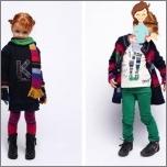 Moderne Kinderkleidung für Mädchen bis zu 10 Jahre - Winter 2016-2017