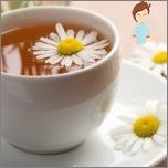 العلاجات الشعبية للضيقات - الشاي من البابونج