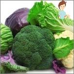Die nützlichsten Produkte für Frauengesundheit - Brokkoli und Weißkohl