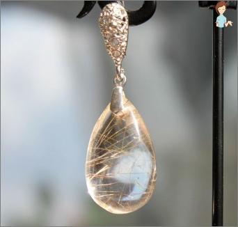 روتيل كوارتز - حجر مثالي للطبيعة الإبداعية