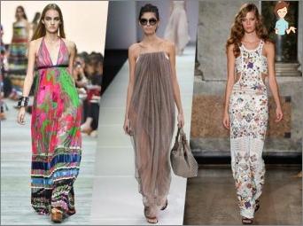 Mode Frühling-Sommer 2015-2016: Farbbereich, beliebte Modelle und Stile