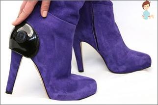 أحذية نسائية: الأنواع والميزات