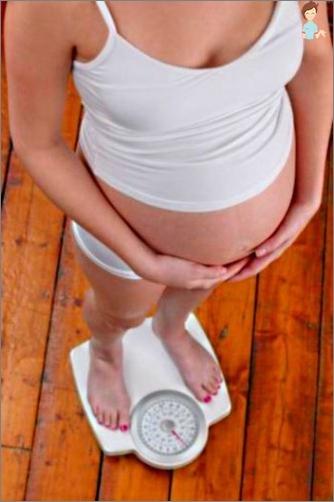 Gewichtszunehmungsraten für die Schwangerschaft. Ursachen für Abweichungen