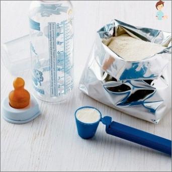 Wählen Sie eine Milchmischung für ein Kind: Wichtige Punkte der Wahl und Verwendung