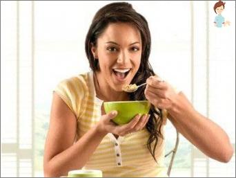 النظام الغذائي بعد الولادة: فقدان الوزن من اليوم الأول