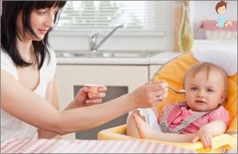 Machen Sie den Ernährungsmodus eines Kindes bis ins Jahr richtig